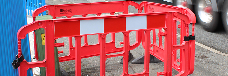 Plastic and Water-Filled Barriers ideal for providing safe traffic management